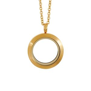Picture of Medium Matte Gold Locket