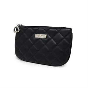 Picture of Small Scarlett Quilted Black Multi-Functional Pouch